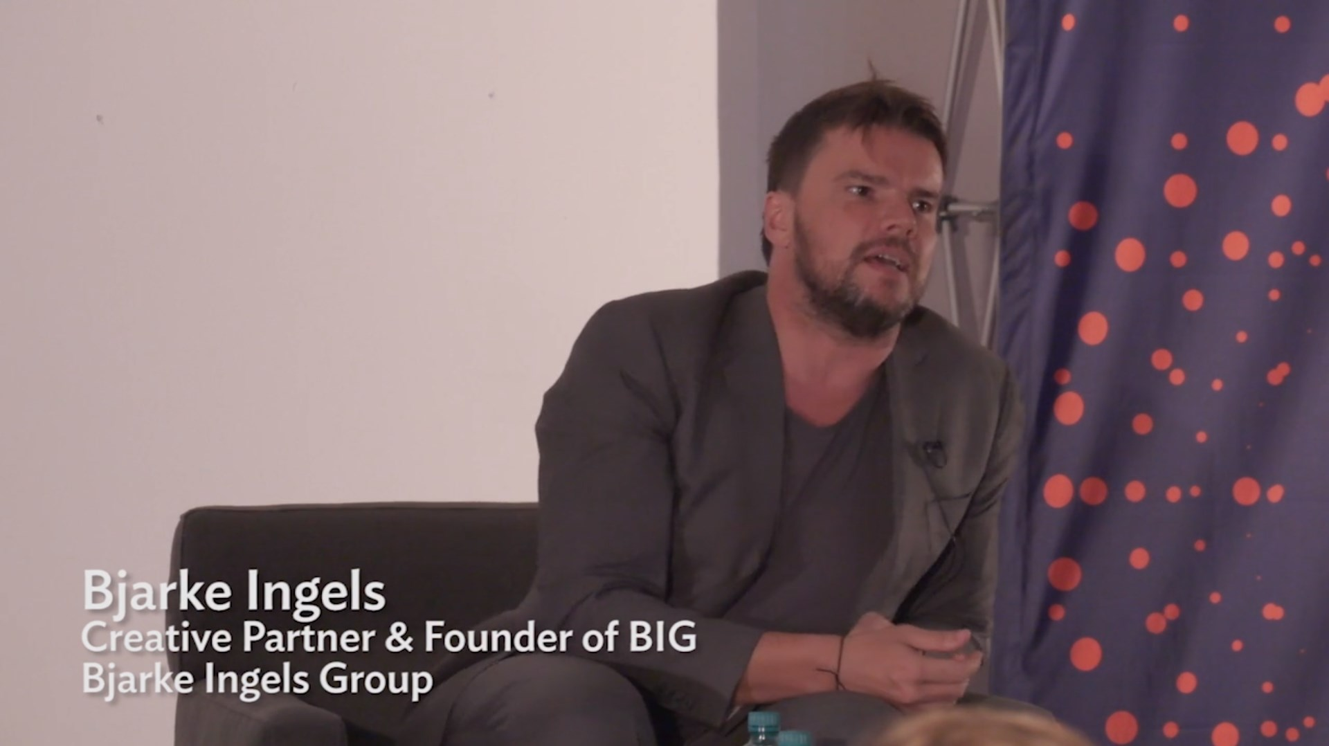 Short Video: Bjarke Ingels in his post-lecture Q & A_Video # 2