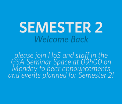 Semester 2 Kick-Off!