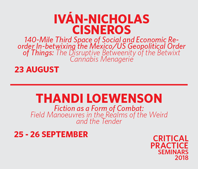 Two new Critical Practice Seminars!