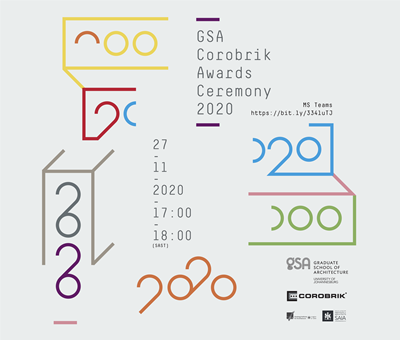 Invitation: GSA-Corobrik Student Awards
